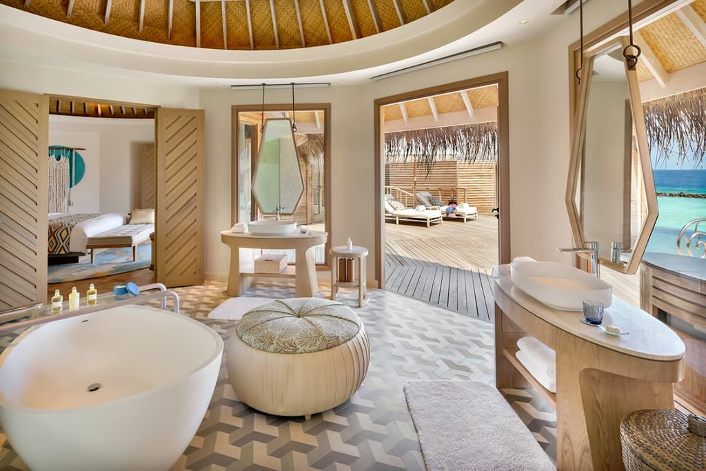 The Nautilus Maldives Luxury Resort - Thiladhoo Island, Maldives - The Nautilus Retreat Master Bathroom