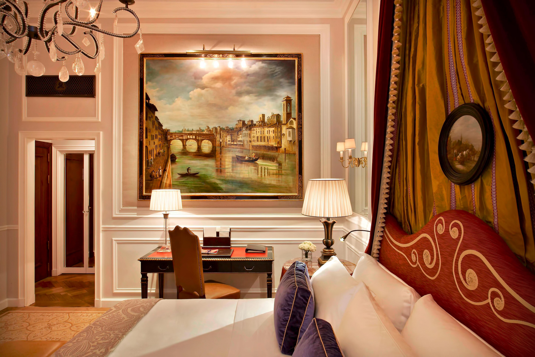 The St. Regis Florence Luxury Hotel - Florence, Italy - Deluxe Room Medici style