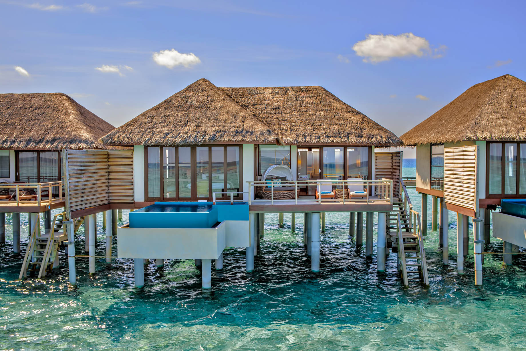 Velassaru Maldives Luxury Resort – South Male Atoll, Maldives – Over Water Bungalows