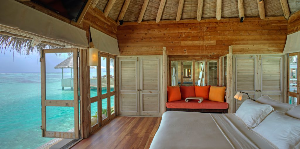 Gili Lankanfushi Luxury Resort - North Male Atoll, Maldives - The Private Reserve Master Suite Bedroom