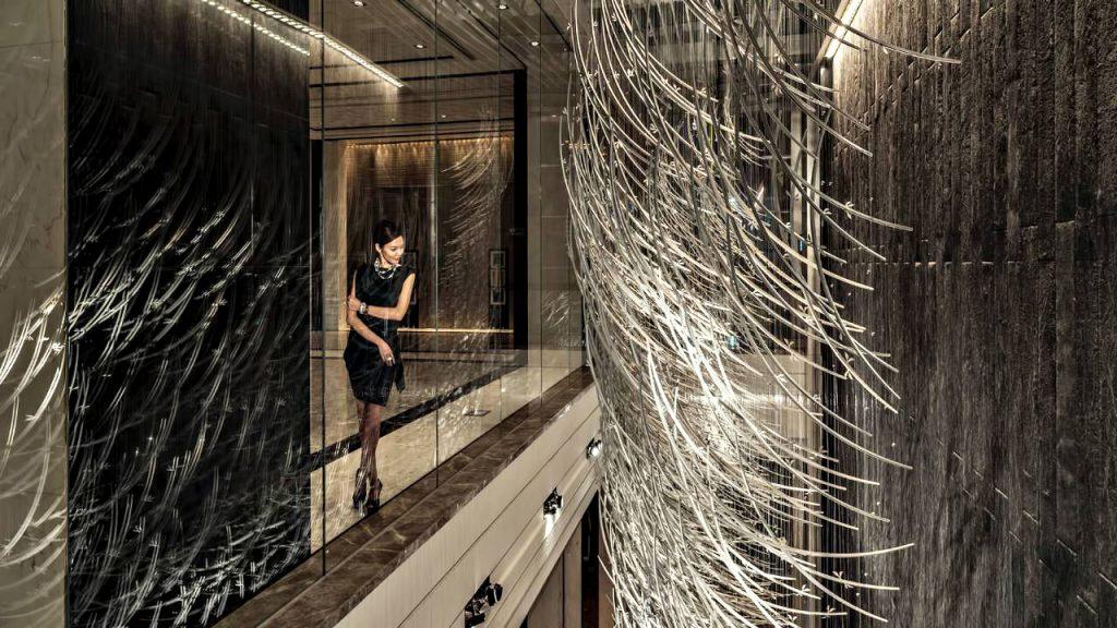 Regent Shanghai Pudong Luxury Hotel - Shanghai, China - Artistic Decor