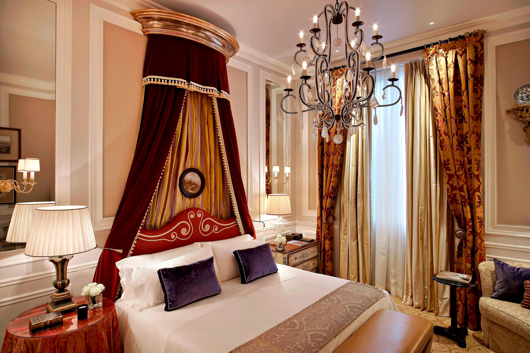 The St. Regis Florence Luxury Hotel – Florence, Italy – Deluxe Room Medici style
