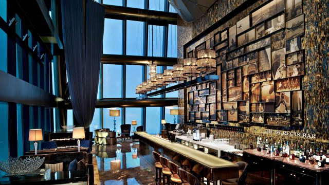 The St. Regis Shenzhen Luxury Hotel - Shenzhen, China - The St. Regis Bar