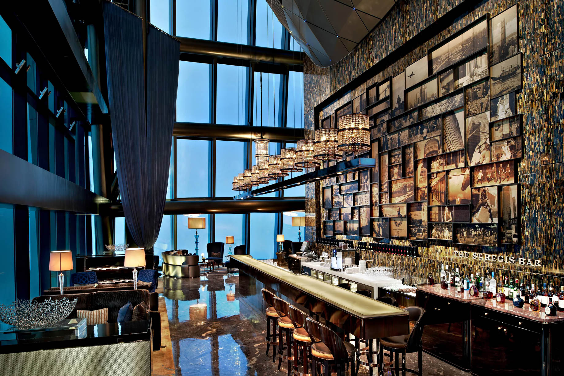 The St. Regis Shenzhen Luxury Hotel – Shenzhen, China – The St. Regis Bar