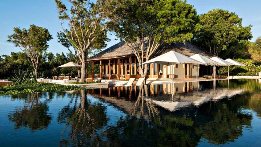 Amanyara Luxury Resort - Providenciales, Turks and Caicos Islands - Artist Ocean Villa Infinity Pool Deck