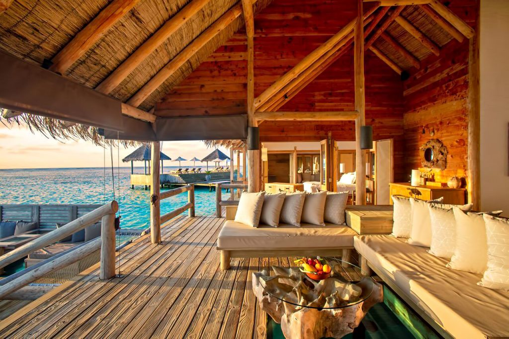 Gili Lankanfushi Luxury Resort - North Male Atoll, Maldives - The Private Reserve Outdoor Lounge