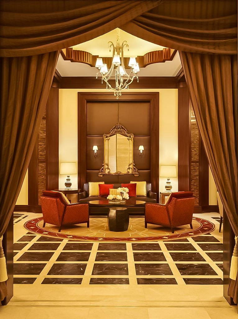 The St. Regis Abu Dhabi Luxury Hotel - Abu Dhabi, United Arab Emirates - Welcome Lounge