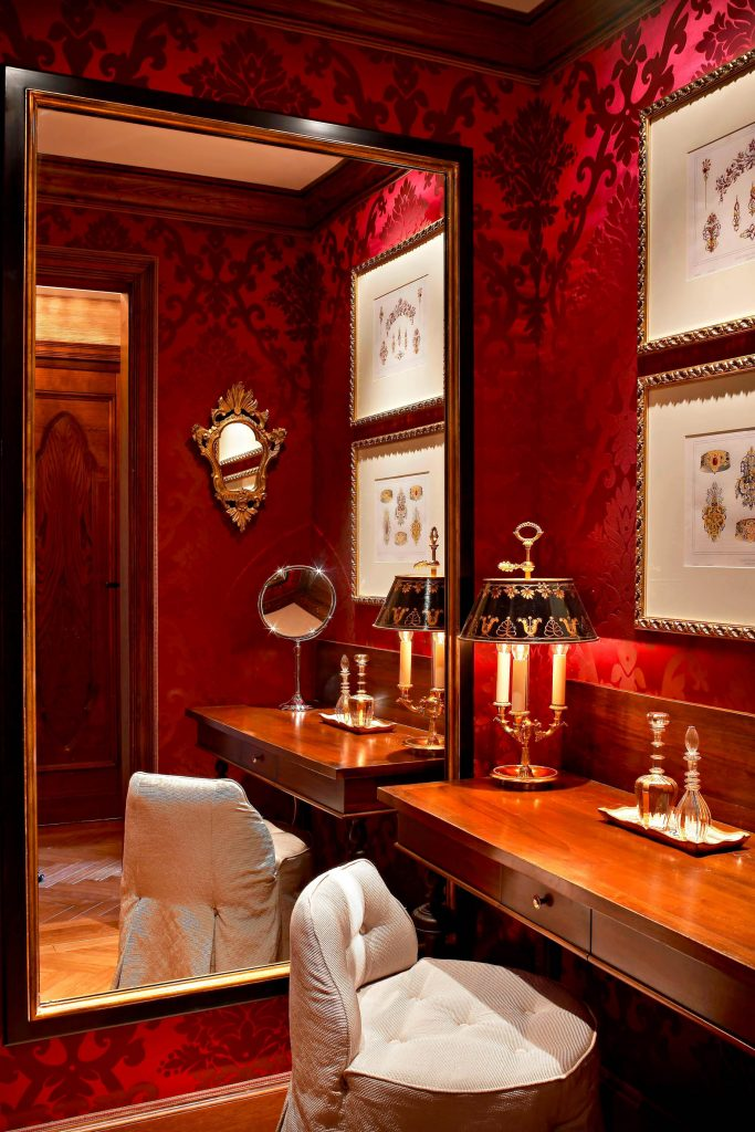 The St. Regis Florence Luxury Hotel - Florence, Italy - Changing Room