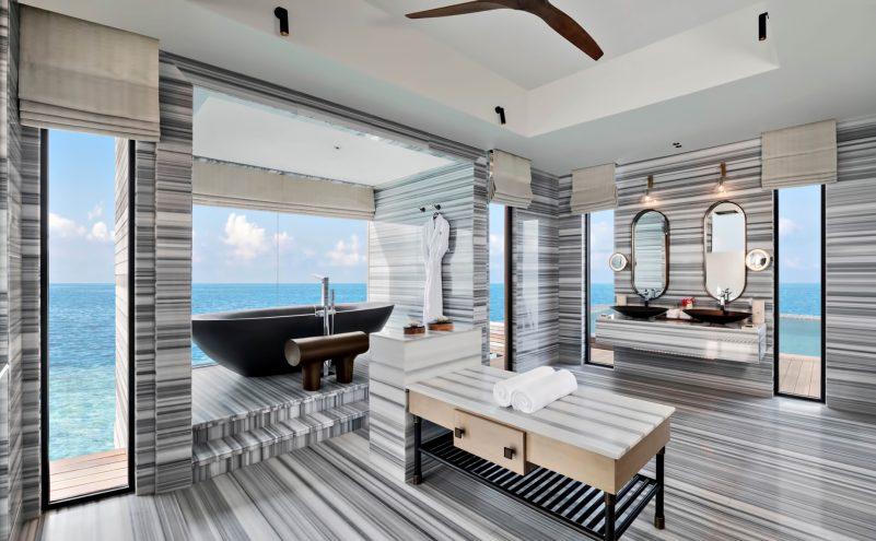 Waldorf Astoria Maldives Ithaafushi Luxury Resort - Ithaafushi Island, Maldives - Stella Maris Ocean Villa Infinity Pool Master Bathroom