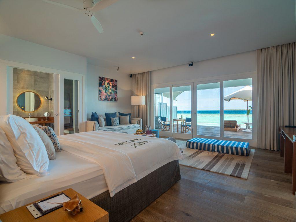 Amilla Fushi Luxury Resort and Residences - Baa Atoll, Maldives - Sunset Water Villa Bedroom
