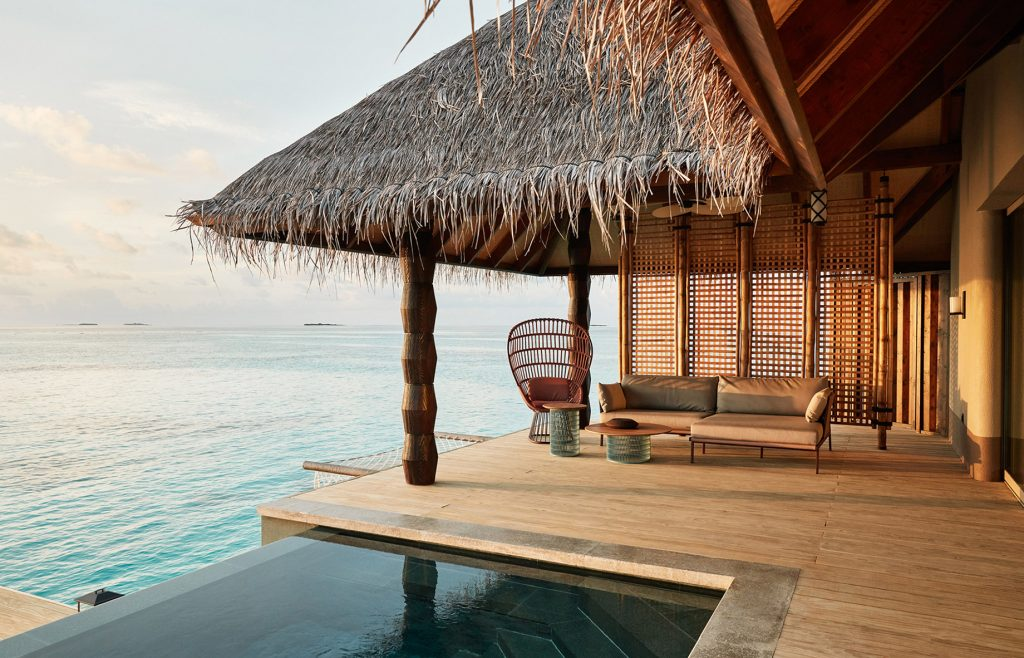 Joali Maldives Luxury Resort - Muravandhoo Island, Maldives - Water Villa Deck