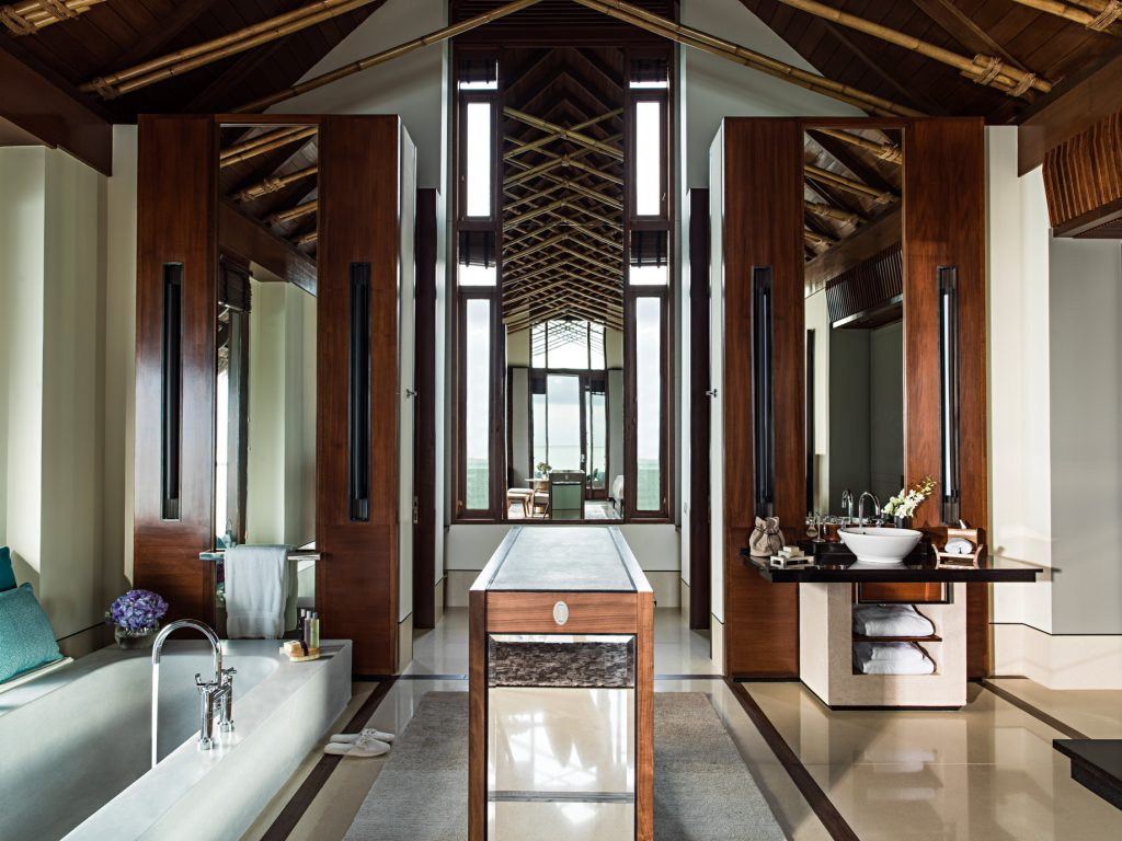 One&Only Reethi Rah Luxury Resort - North Male Atoll, Maldives - Overwater Villa Master Bathroom
