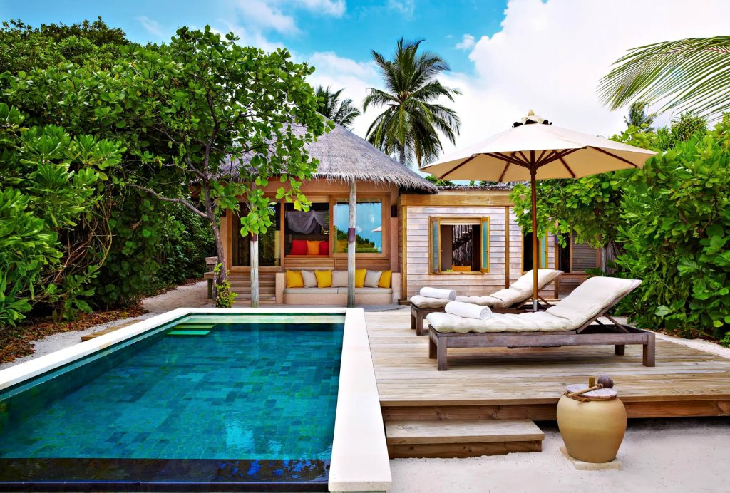 Six Senses Laamu Luxury Resort - Laamu Atoll, Maldives - Ocean Beach Villa with Pool