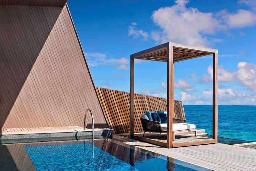 The St. Regis Maldives Vommuli Luxury Resort - Dhaalu Atoll, Maldives - St. Regis Overwater Suite Cabana