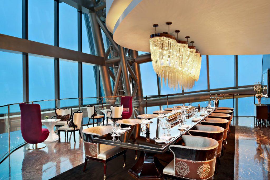 The St. Regis Shenzhen Luxury Hotel - Shenzhen, China - Elba Italian Restaurant Private Dining Room