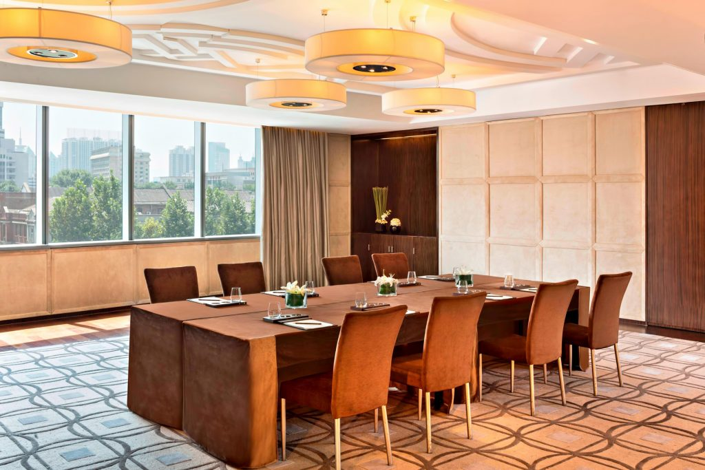 The St. Regis Tianjin Luxury Hotel - Tianjin, China - Riviera Restaurant Meeting Room