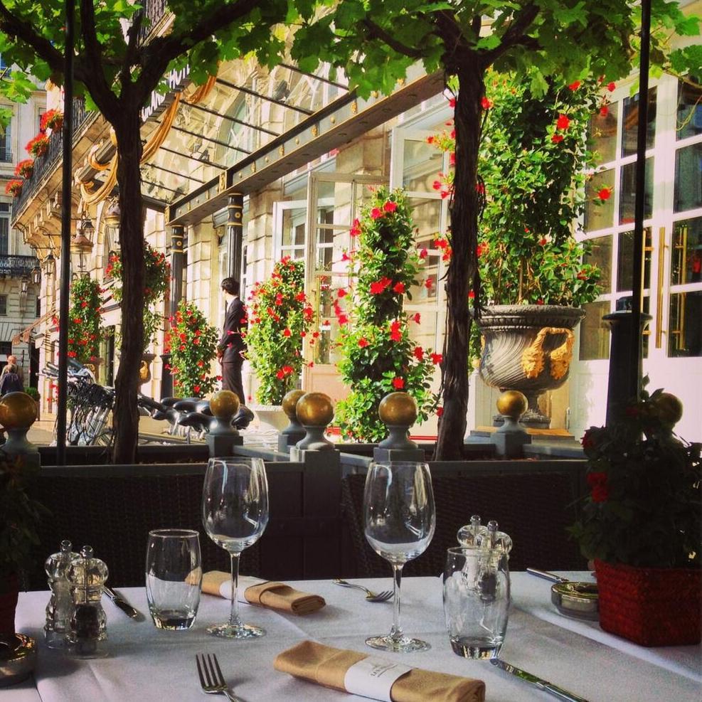 InterContinental Bordeaux Le Grand Hotel - Bordeaux, France - Patio Dining