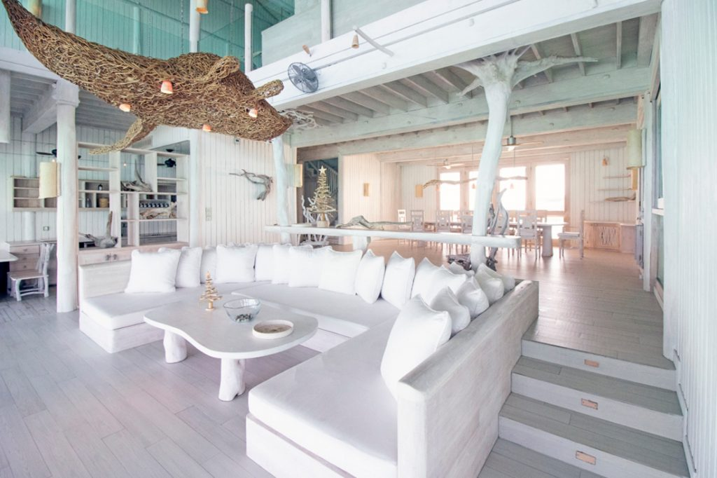 Soneva Jani Luxury Resort - Noonu Atoll, Medhufaru, Maldives - 4 Bedroom Water Reserve Villa Living Room
