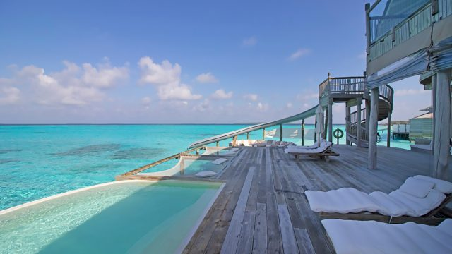 Soneva Jani Luxury Resort - Noonu Atoll, Medhufaru, Maldives - 4 Bedroom Water Reserve Villa Infinity Pool Deck