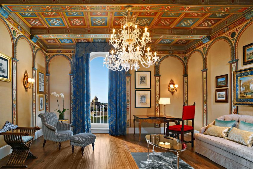 The St. Regis Florence Luxury Hotel - Florence, Italy - Royal Suite Gioconda Living Room