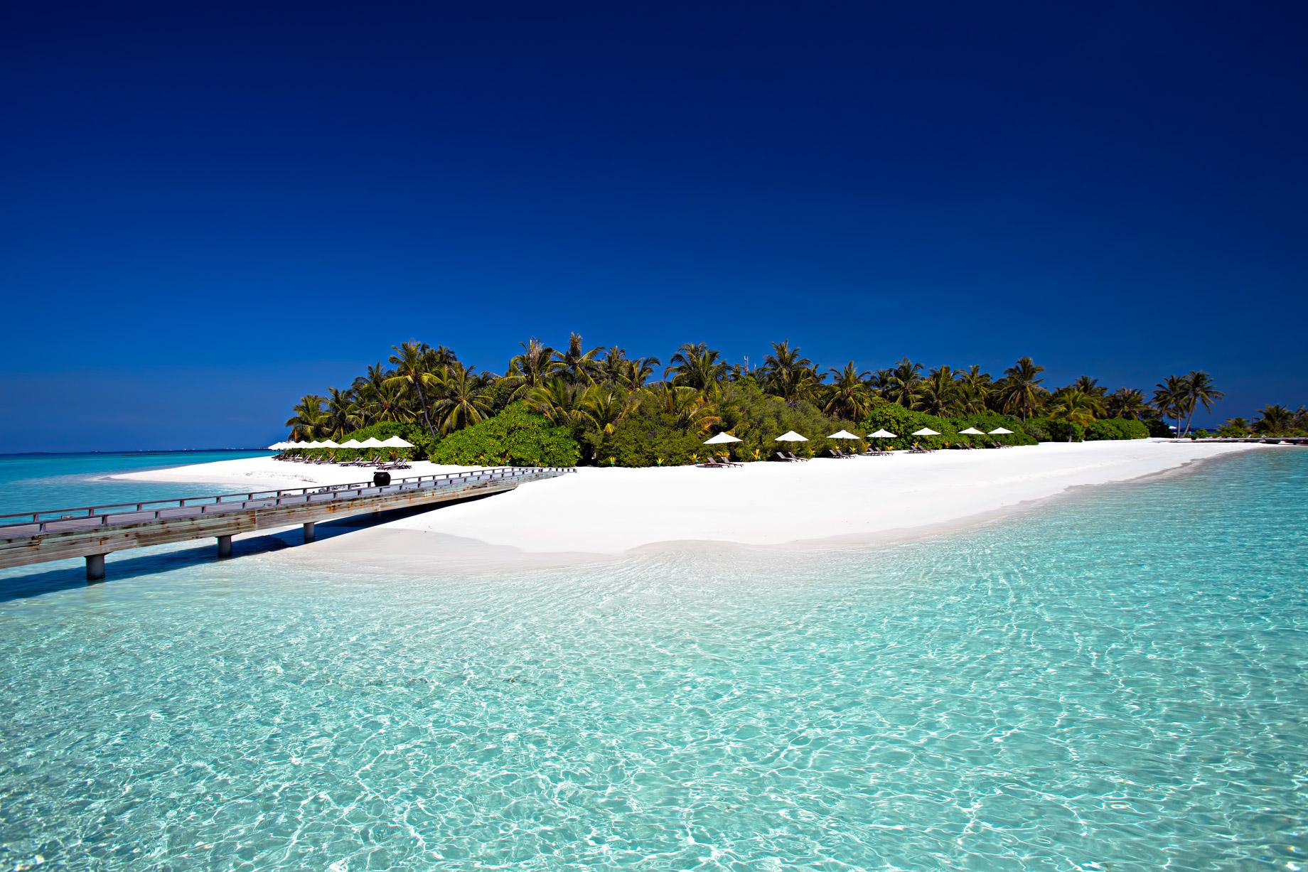 Velassaru Maldives Luxury Resort – South Male Atoll, Maldives – White Sand Beach