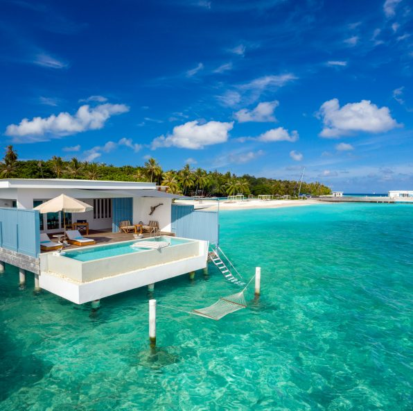 Amilla Fushi Luxury Resort and Residences - Baa Atoll, Maldives - Sunset Overwater Villa with Pool