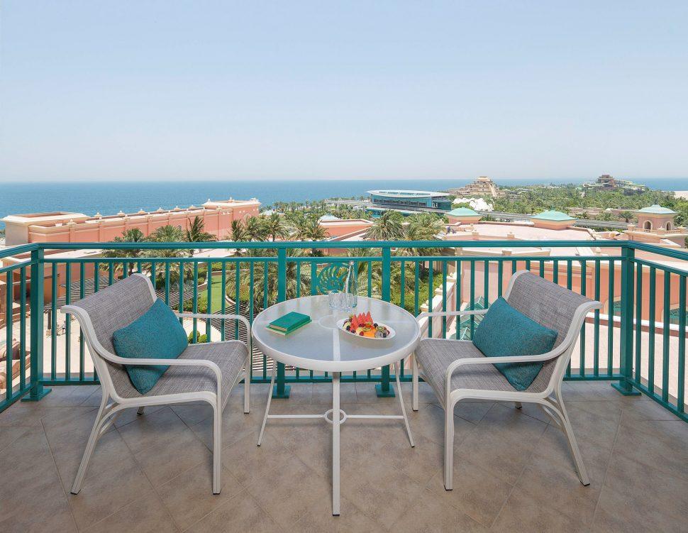 Atlantis The Palm Luxury Resort - Crescent Rd, Dubai, UAE - Executive Club Suite Balcony