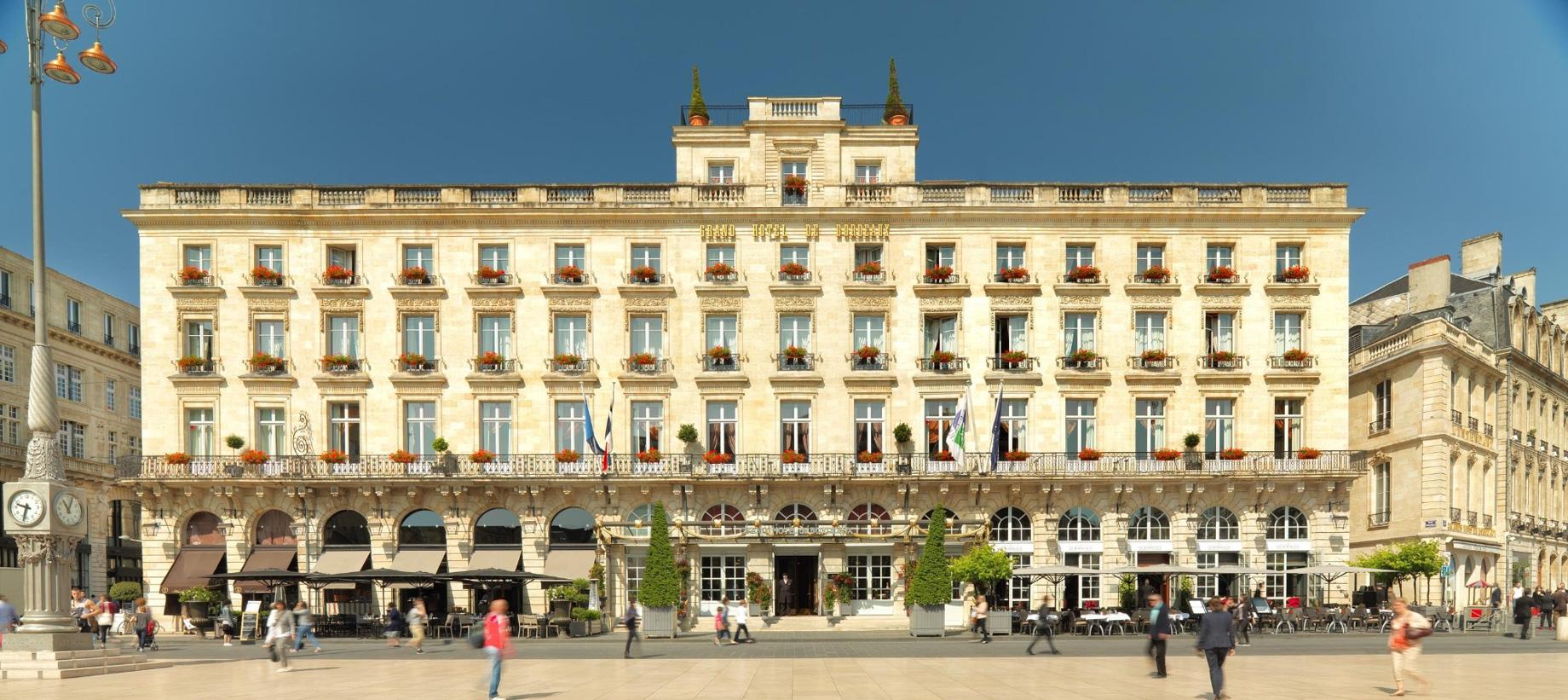 InterContinental Bordeaux Le Grand Hotel – Bordeaux, France – Le Bordeaux – Front Exterior