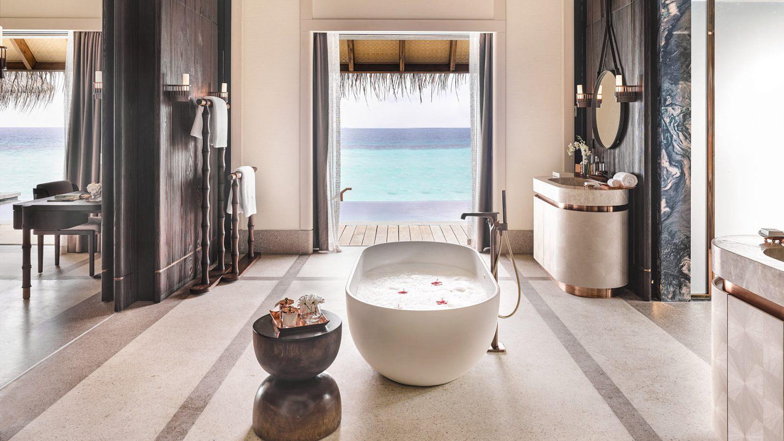 Joali Maldives Luxury Resort - Muravandhoo Island, Maldives - Water Villa Master Bathroom