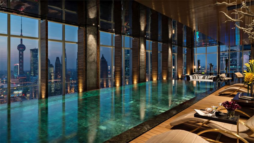 Regent Shanghai Pudong Luxury Hotel - Shanghai, China - Tower Infinity Pool