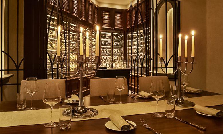 The St. Regis Abu Dhabi Luxury Hotel - Abu Dhabi, United Arab Emirates - Villa Toscana Private Dining Room