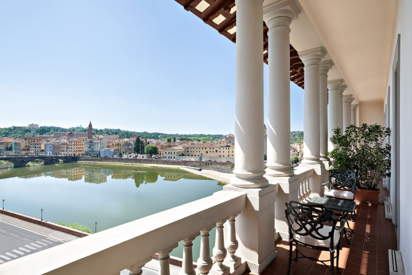 The St. Regis Florence Luxury Hotel - Florence, Italy - Presidential Suite Balcony