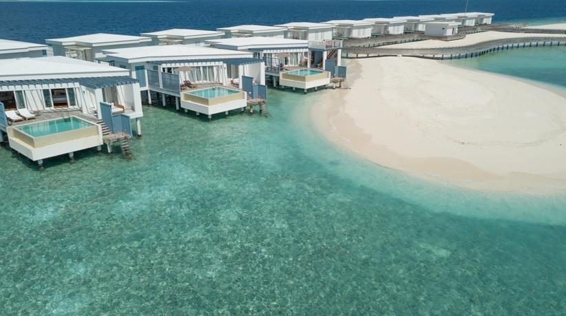 Amilla Fushi Luxury Resort and Residences - Baa Atoll, Maldives - Overwater Villas with Pool