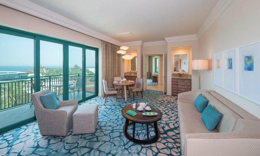 Atlantis The Palm Luxury Resort - Crescent Rd, Dubai, UAE - Executive Club Suite Living Room