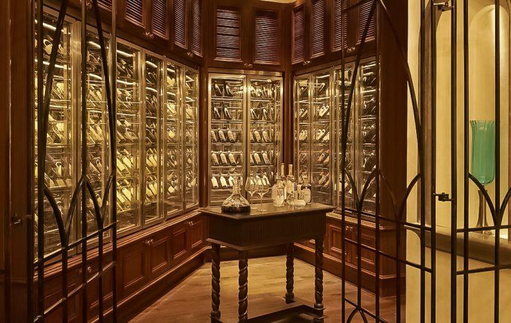 The St. Regis Abu Dhabi Luxury Hotel - Abu Dhabi, United Arab Emirates - Villa Toscana Wine Cellar