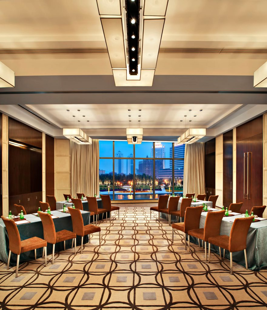 The St. Regis Tianjin Luxury Hotel - Tianjin, China - St. Regis Meeting Room