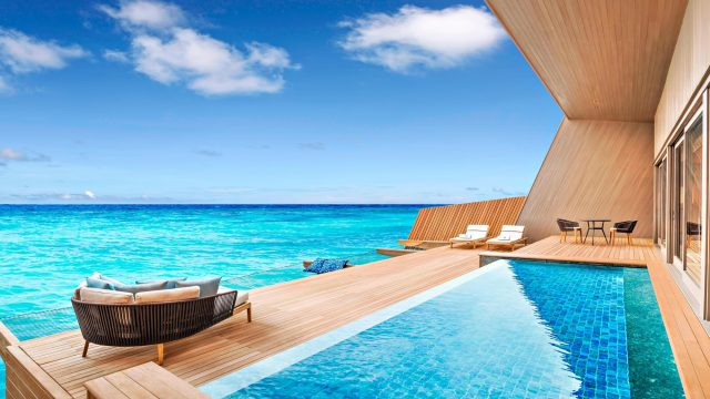 The St. Regis Maldives Vommuli Luxury Resort - Dhaalu Atoll, Maldives - Overwater Villa with Pool