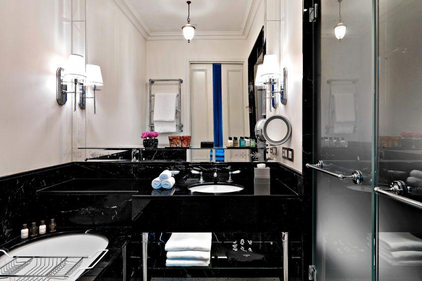 The St. Regis Rome Luxury Hotel - Rome, Italy - Bottega Veneta Suite Bathroom