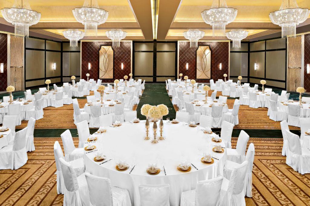 The St. Regis Tianjin Luxury Hotel - Tianjin, China - St. Regis Ballroom Wedding