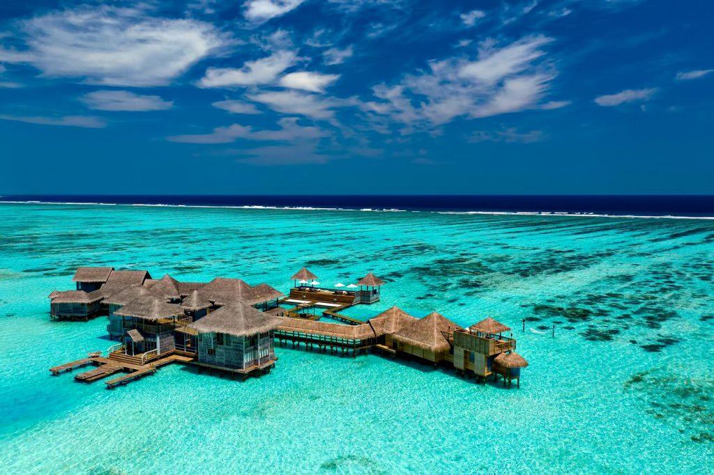 Gili Lankanfushi Luxury Resort - North Male Atoll, Maldives - The Private Reserve Aerial View