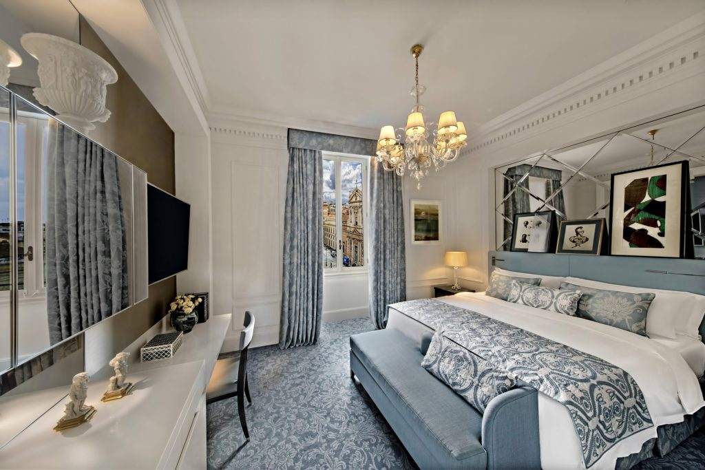 The St. Regis Rome Luxury Hotel - Rome, Italy - Deluxe Room King