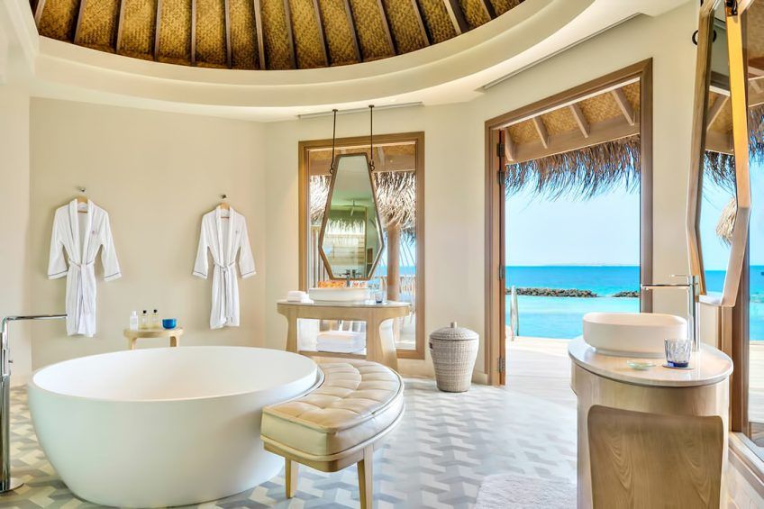 The Nautilus Maldives Luxury Resort - Thiladhoo Island, Maldives - Ocean Residence Bathroom