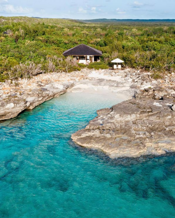 Amanyara Luxury Resort - Providenciales, Turks and Caicos Islands - Ocean Cove Pavilion Aerial