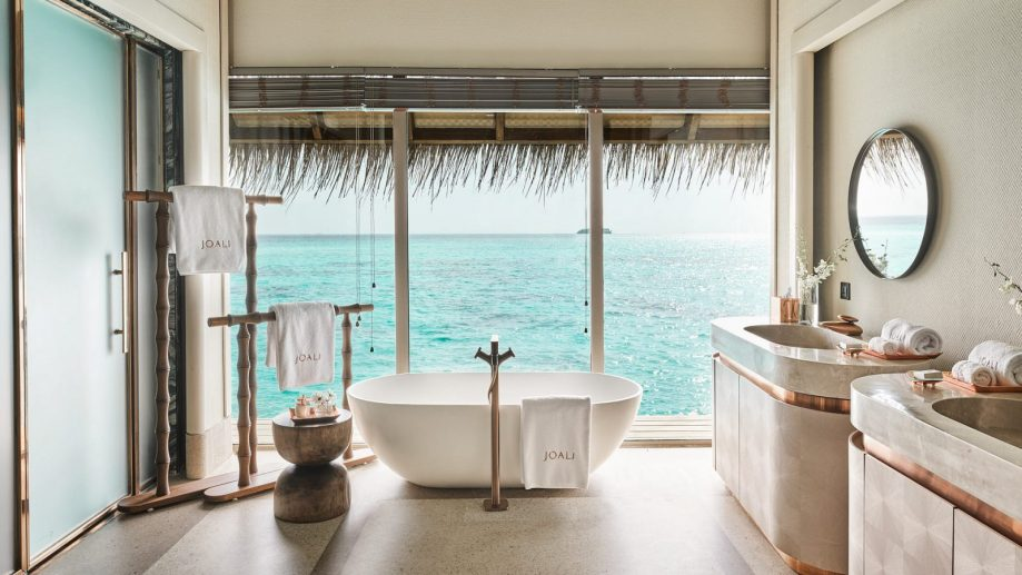 Joali Maldives Luxury Resort - Muravandhoo Island, Maldives - Water Villa Bathroom