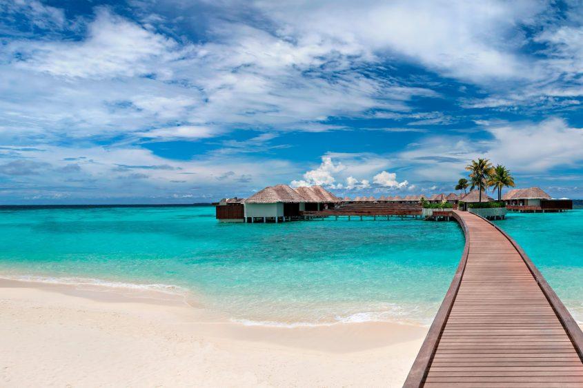 W Maldives Luxury Resort - Fesdu Island, Maldives - Overwater Bungalows Boardwalk