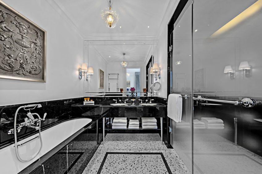 The St. Regis Rome Luxury Hotel - Rome, Italy - Deluxe Room Bathroom