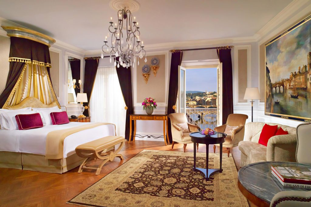 The St. Regis Florence Luxury Hotel - Florence, Italy - Junior Suite Arno Michelangelo