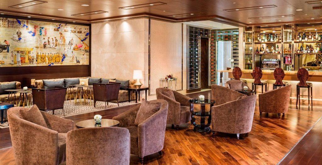 The St. Regis Abu Dhabi Luxury Hotel - Abu Dhabi, United Arab Emirates - Private Bar