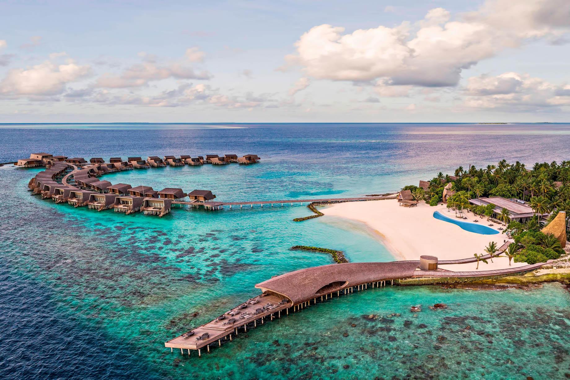 The St. Regis Maldives Vommuli Luxury Resort - Dhaalu Atoll, Maldives - Whale Bar Exterior