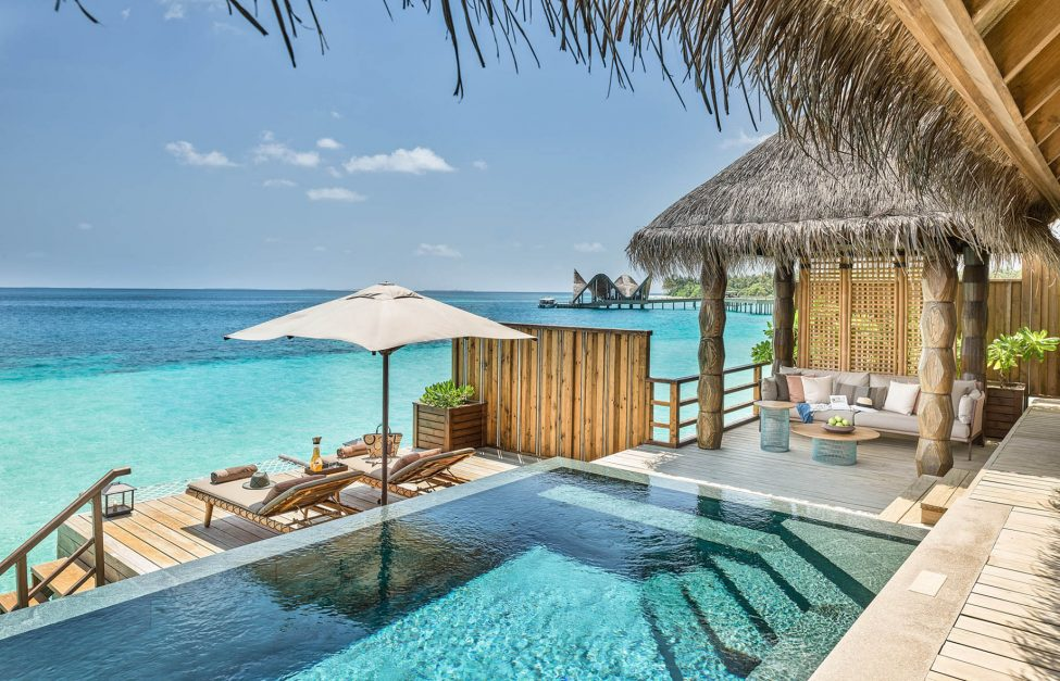 Joali Maldives Luxury Resort - Muravandhoo Island, Maldives - Water Villa Pool Deck